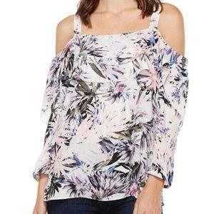 NYDJ floral printed blouse